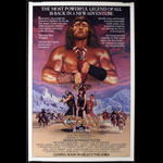Conan the Destroyer Advance Movie Poster