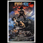 Frank Frazetta Fire and Ice Movie Poster