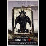 District 9 Advance Promotional  Mini Movie Poster