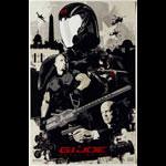 G.I. Joe: Retaliation Advance Promotional  Mini Movie Poster