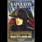 Abel Gance's Napoleon Movie Poster