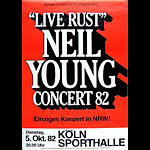 Neil Young - Live Rust Poster