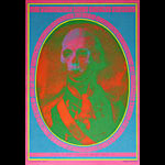 Victor Moscoso Neon Rose # 13 Death and Transfiguration Poster