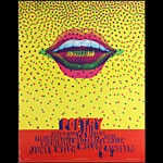Victor Moscoso NR # 24-1 Poetry Reading Neon Rose NR24 (B-5) Poster