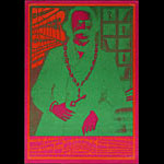 Victor Moscoso NR # 4-1 Big Brother and the Holding Company Neon Rose NR4 Poster