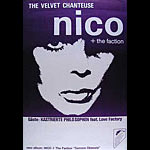 Nico Camera Obscura German Tour Poster