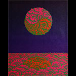 Victor Moscoso Nieman Marcus  Neon Rose #B2 Poster