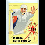 1956 Notre Dame vs Indiana College Football Program
