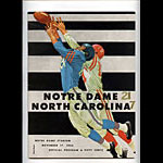 1962 Notre Dame vs North Carolina College Football Program