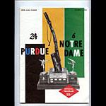 1962 Notre Dame vs Purdue College Football Program
