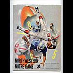 1965 Notre Dame vs Northwestern College Football Program
