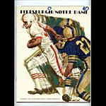 1966 Notre Dame vs Pittsburgh College Football Program