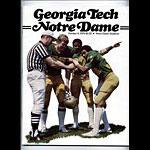 1979 Notre Dame vs Georgia Tech College Football Program