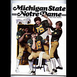 1979 Notre Dame vs Michigan State College Football Program