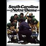 1979 Notre Dame vs South Carolina College Football Program