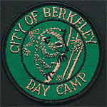 City of Berkeley Day Camp Patch