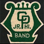 CP Junior High Band Patch