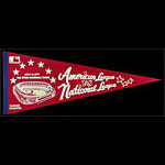 MLB All Star Game July 19 1977 Yankee Stadium Pennant