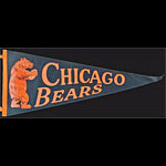 Chicago Bears Football Pennant