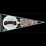San Francisco Giants 1987 Western Division National League Champions Pennant