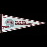 Memphis Showboats USFL Football Pennant
