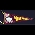 University of Minnesota Rose Bowl Champions Pennant
