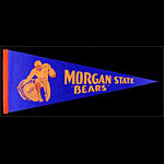 Morgan State Bears Football Pennant