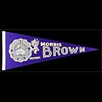 Morris Brown College Wolverines Pennant