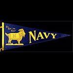Navy Go Get 'em Goat Pennant