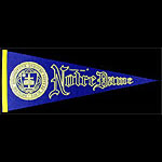 University of Notre Dame Fighting Irish Pennant