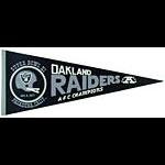 Oakland Raiders Super Bowl XI 1977 Football Pennant