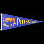 University of Pittsburgh Panthers Pennant