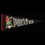 Scarce 1960's Pittsburgh Pirates Baseball Pennant