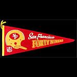 San Francisco 49ers Pennant