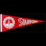 Stanford University Cardinals Football Pennant