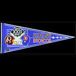 Super Bowl XXII: Redskins Vs. Broncos Pennant