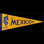 University of Mexico Football Pennant