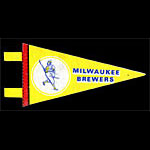 Milwaukee Brewers Baseball Mini Pennant