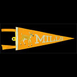 Mills College (Oakland) Pennant