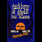 Daddy Bread Chuck Berry, Boz Scaggs Pepperland Handbill