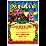 Mike Bloomfield Clover Pepperland Handbill