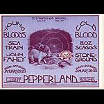 Mark Behrens Youngbloods, Boz Scaggs Pepperland Handbill