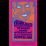 Mark Behrens Frank Zappa, Tim Buckley Pepperland Handbill