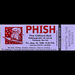 Jim Pollock Phish Clifford Ball Ticket