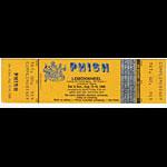 Phish Lemonwheel Unused Ticket