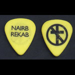 Bad Religion Brian Baker No Substance Tour Yellow Guitar Pick