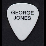 George Jones Guitar Pick
