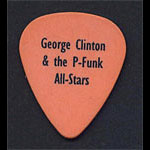 George Clinton  Guitar Pick