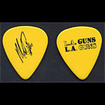 L.A. Guns Mick Cripps Guitar Pick