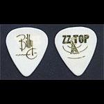 ZZ Top - Billy Gibbons 1994 Antenna Tour White Guitar Pick